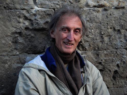 L'artiste David Moore, d'origine irlandaise, est au Canada depuis plusieurs années.  Photo gracieuseté