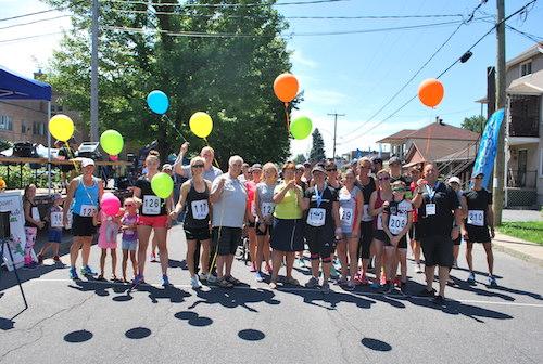 L'événement attire plusieurs personnes chaque année au profit de la Fondation québécoise du cancer. Photo gracieuseté