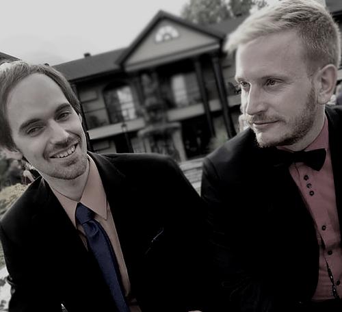 Le duo Nort é Sur sera en prestation pour les dimanches Fabul'Art. Photo gracieuseté