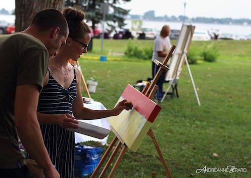 Il s'agira de la deuxième édition de l'événement Reg'Art sur le Fleuve, organisé par Sophie Pelletier. Photo Andréanne Bérard, tirée de Facebook