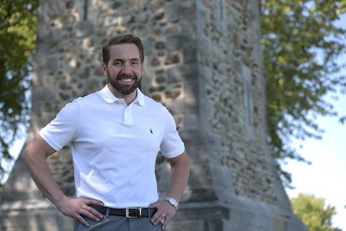 Simon Chalifoux est candidat dans la circonscription Pierre-Boucher–Les Patriotes–Verchères.  Photo gracieuseté