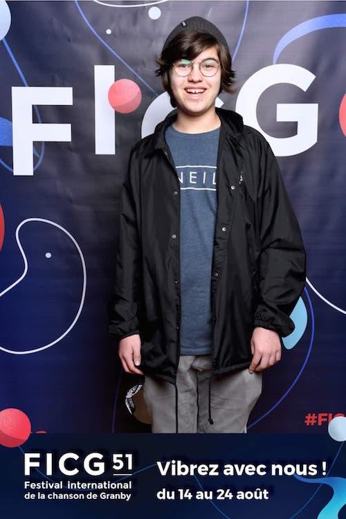 Jonas Lefebvre fera partie de la demi-finale du Petit Festival, dans la catégorie 10 à 13 ans.  Photo gracieuseté