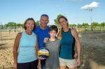 Ils font du volleyball une histoire de famille
