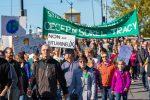 Des centaines de personnes réunies à la marche La planète en grève à Sorel-Tracy