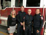 Des premiers répondants honorés pour avoir sauvé la vie d'une citoyenne à Contrecœur