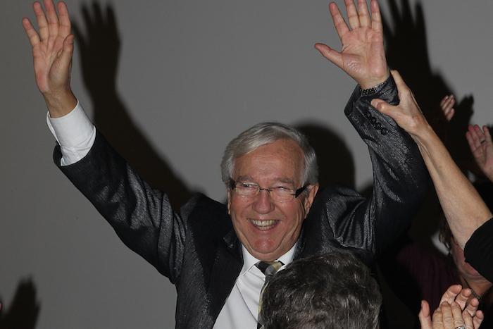 En étant réélu pour un onzième mandat consécutif, le 21 octobre dernier, Louis Plamondon a égalé un record de Wilfrid Laurier. Photo Pascal Cournoyer | Les 2 Rives ©
