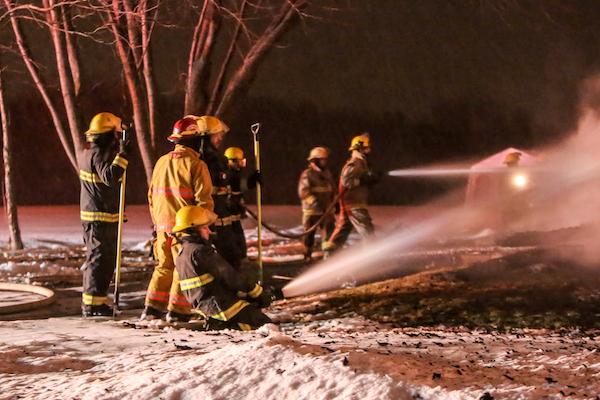 La révision proposée par le ministère du schéma de couverture de risques en sécurité incendie est contestée par les maires de la MRC de Pierre-De Saurel. Photothèque | Les 2 Rives ©