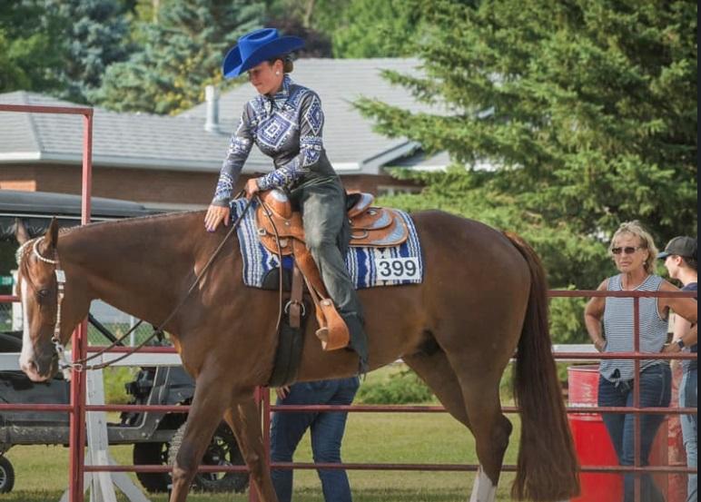 Kamyl Mathieu est la seule cavalière au Québec qui a été choisie par Équipe Canada. Photo gracieuseté