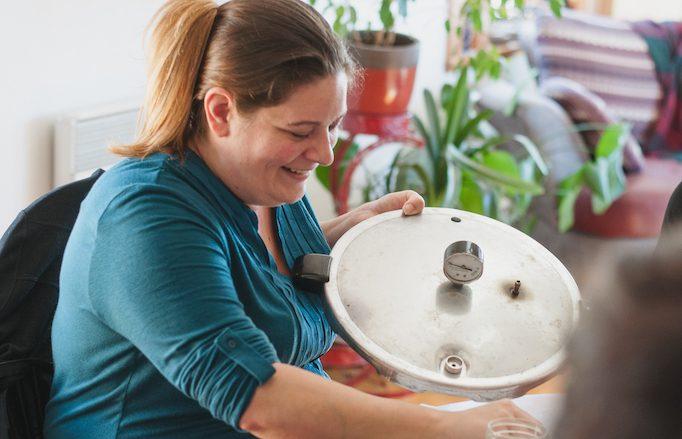 Sabrina Thériault a lancé l'entreprise Miss Conserve il y a près de quatre ans. Photo gracieuseté