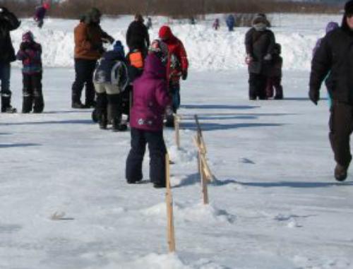 Le permis de pêche sur glace de l'AFC sera gratuit les 1er et 2 février. Photothèque | Les 2 Rives ©