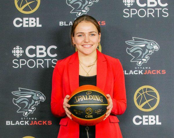Marika Guérin à l'emploi d'une équipe professionnelle de basketball