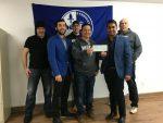 Les syndiqués des Poudres métalliques remettent 44 340 $ à la communauté