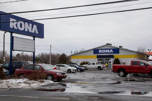 Le RONA du secteur Sorel est maintenant fermé. Photothèque | Les 2 Rives ©