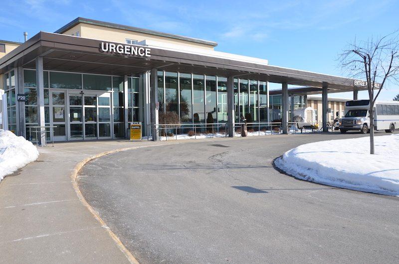 Le taux d'occupation de 235% de l'Hôtel-Dieu de Sorel était un sommet au Québec, jeudi midi.  Photo Sébastien Lacroix | Les 2 Rives ©