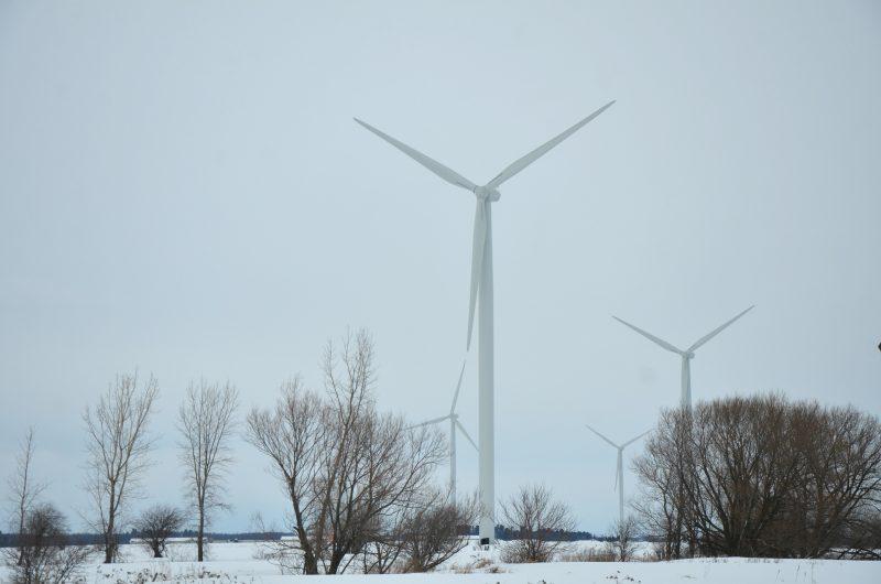 Le Parc éolien Pierre-De Saurel a enregistré une production électrique record en 2019.  Photothèque | Les 2 Rives ©