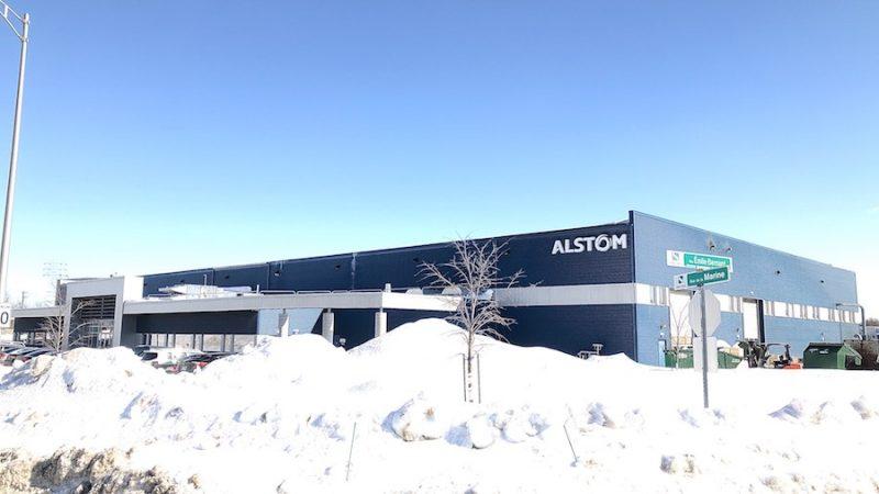 L'incertitude régnait au cours des derniers mois à l'usine d'Alstom de Sorel-Tracy. Photo Pascal Cournoyer | Les 2 Rives ©