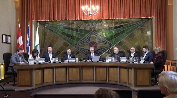 Le conseil municipal de Sorel-Tracy a siégé le 3 février dernier. Photo Capture d'écran
