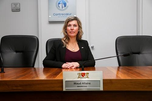 Maud Allaire estime qu'il est temps qu'il y ait une discussion sur les compétences provinciales et municipales. Photo Pascal Cournoyer | Les 2 Rives ©
