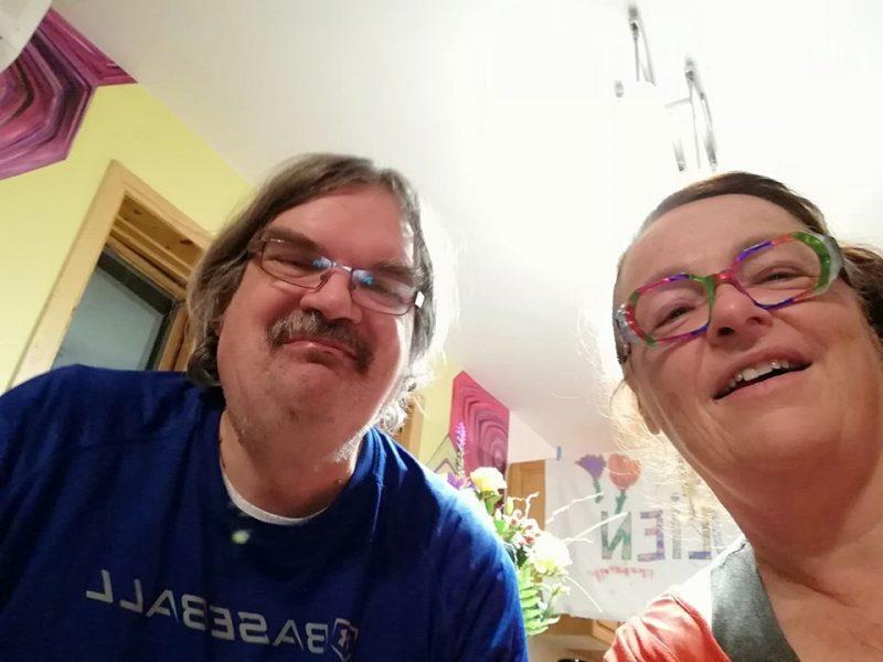 Manon Trudel et Julien Bergeron sont en isolement depuis leur retour au Québec. Photo gracieuseté – Manon Trudel