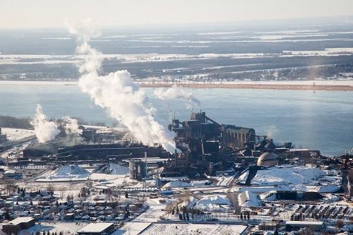 La région de Sorel-Tracy a longtemps été considérée comme l'une des plus polluées au Québec. Photo Pascal Cournoyer | Les 2 Rives ©