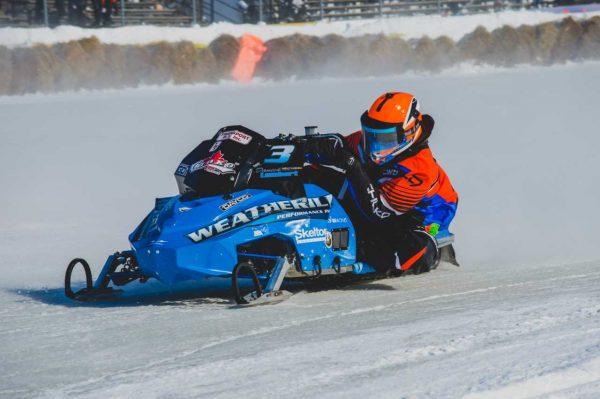 Un pas de géant pour le motoneigiste Danick Lambert