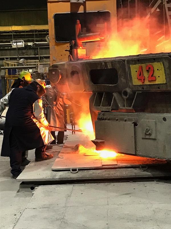 ArcelorMittal ajuste ses niveaux de main-d'œuvre en fonction de la demande d'acier.  Photothèque | Les 2 Rives ©