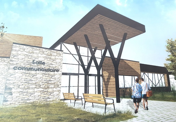 Le projet de centre multifonctionnel a été jugé comme étant « prioritaire» par le ministère des Affaires municipales et de l'Habitation. Photo gracieuseté