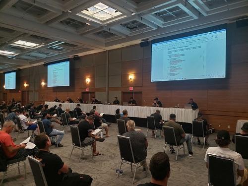 Les syndiqués ont voté pour le renouvellement de la convention collectives dans une proportion de 75 %.  Photo gracieuseté
