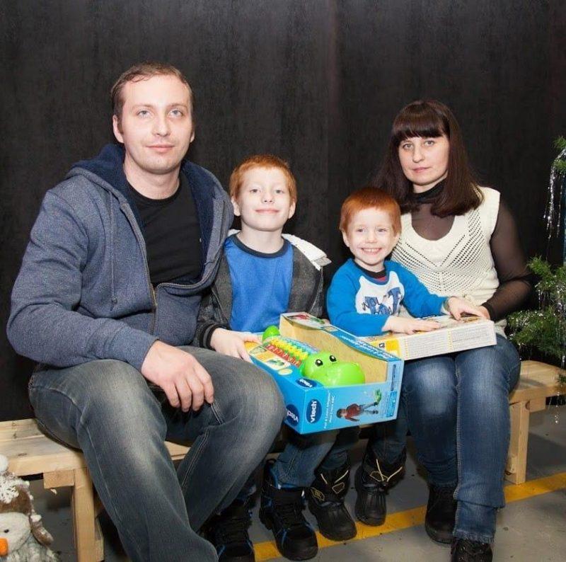 La famille d'Ihor Horbanov est menacée d'expulsion. Photo tirée de Facebook