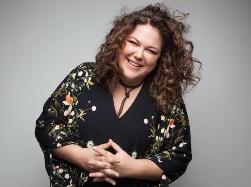 La gagnante de la quatrième saison de La Voix, Stéphanie St-Jean. Photo gracieuseté