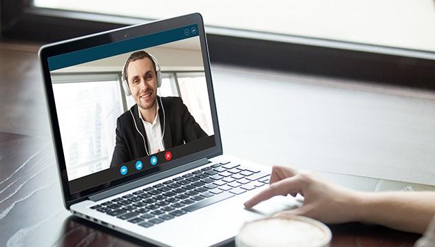 De plus en plus d'entrevues se font désormais par vidéoconférence. Photo jobboom.com