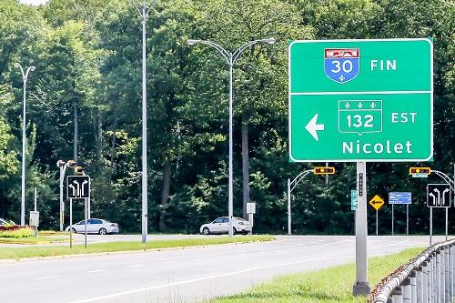 Le prolongement de l'autoroute 30 pourrait désengorger la Rive-Sud. Photo Pascal Cournoyer | Les 2 Rives ©