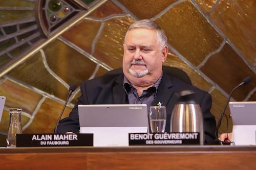 Une élection partielle pourrait se tenir le 13 décembre pour remplacer le conseiller Alain Maher. Photo Pascal Cournoyer | Les 2 Rives ©