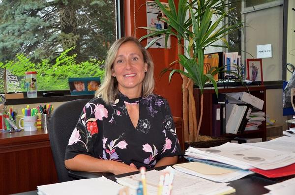 La directrice générale du Cégep de Sorel-Tracy, Stéphanie Desmarais, a mis en œuvre plusieurs mesures afin d'aider les étudiants pendant la pandémie. Photothèque | Les 2 Rives ©