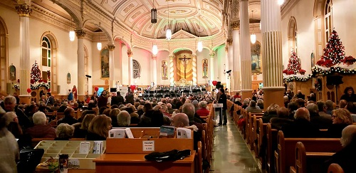 L'an dernier, 761 personnes avait assisté au concert à l'église St-Pierre. Photo gracieuseté – Marianne St-Amand