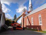 L'église de Sainte-Victoire en bon état à temps pour l'hiver