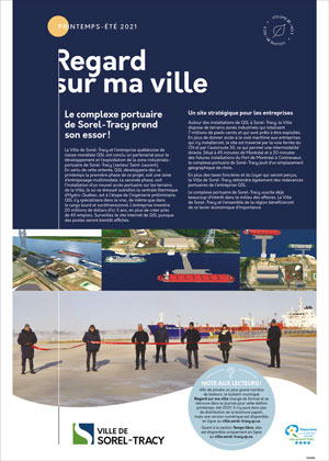 Bulletin municipal de Sorel-Tracy