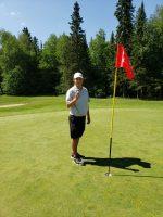 Championnat provincial junior de golf : Vincent Paquin réalise un trou d'un coup
