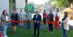 Une cour nouvellement réaménagée au Carrefour naissance-famille