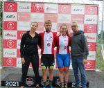 Laurie et Tristan Jussaume champions nationaux en cyclisme