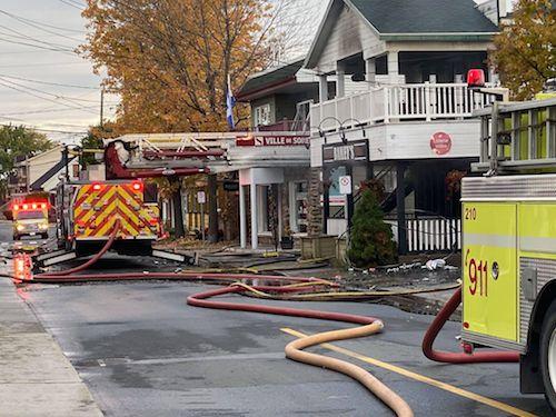 Le Bailey's Resto-Bar de Contrecœur de nouveau la proie des flammes